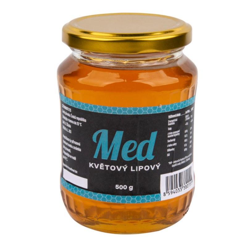 Med květový lipový 500 g ČÍHALA - Zdravá výživa a biopotraviny Med, melasa a další sladidla Med