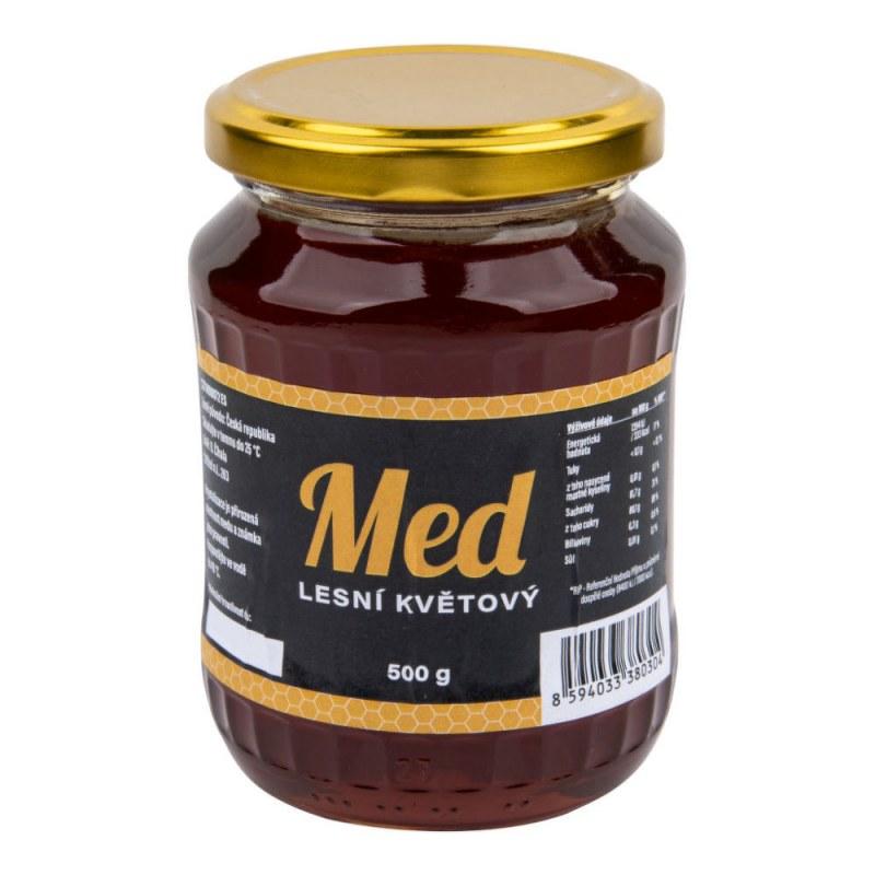 Med lesní květový 500 g ČÍHALA - Zdravá výživa a biopotraviny Med, melasa a další sladidla Med