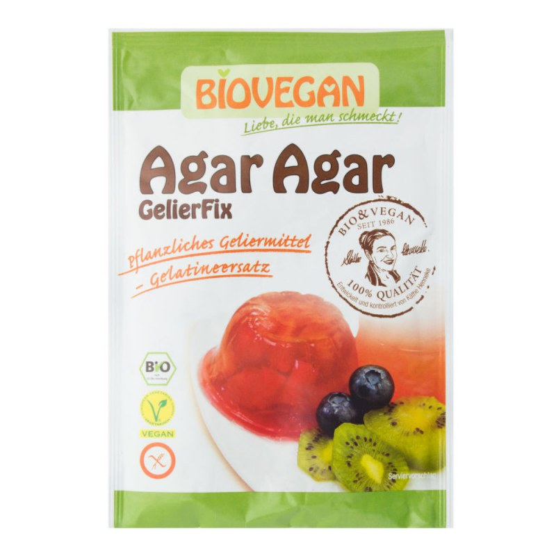 Agar prášek 30g BIO BIOVEGAN - Zdravá výživa a biopotraviny Mořské řasy
