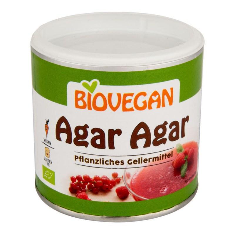 Agar prášek 100 g BIO BIOVEGAN - Zdravá výživa a biopotraviny Mořské řasy