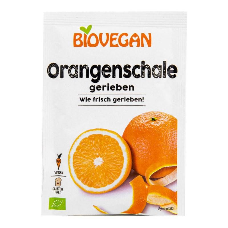 Pomerančová kůra strouhaná 9g BIO BIOVEGAN - Zdravá výživa a biopotraviny Směsi a omáčky Doplňky na vaření a pečení