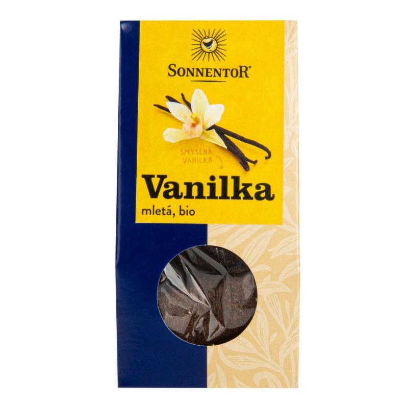 Vanilka mletá 10g BIO SONNENTOR - Zdravá výživa a biopotraviny Med, melasa a další sladidla Kakao, karob, vanilka