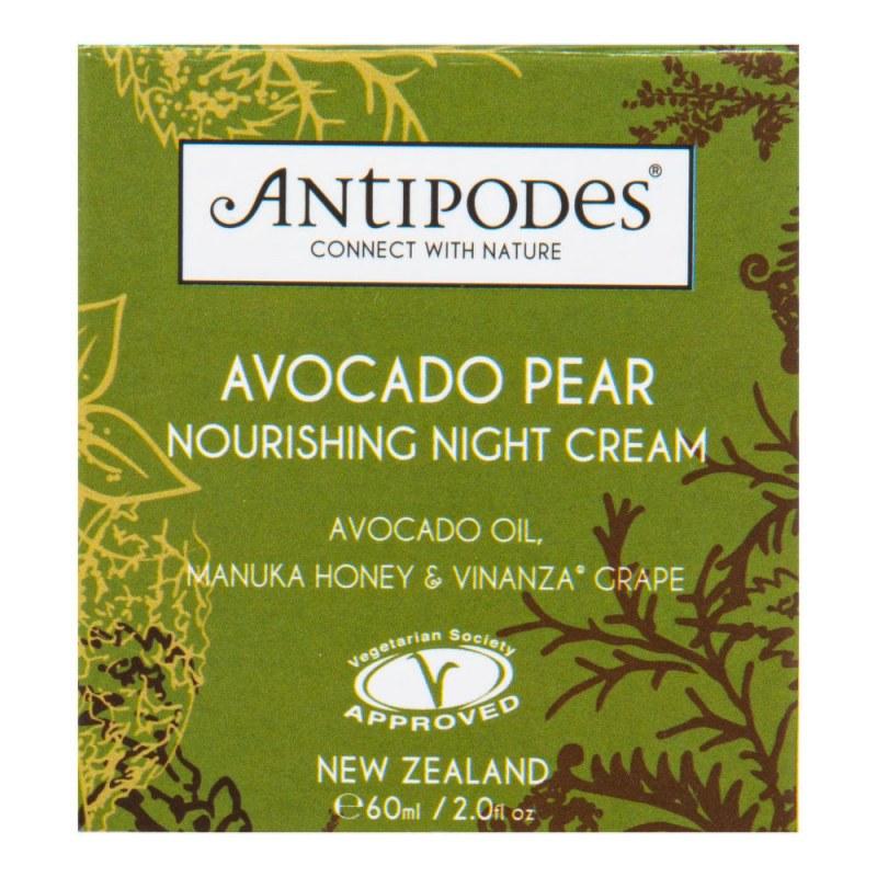 Krém výživný noční AVOCADO PEAR 60 ml ANTIPODES - Přírodní kosmetika Francie, USA Pleťová kosmetika Pleťové krémy a gely