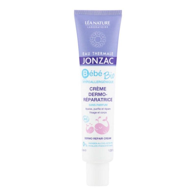 Krém dermo-regenerující dětský BÉBÉ BIO 40 ml BIO JONZAC - Přírodní kosmetika Francie, USA Tělová kosmetika Tělová másla, mléka a krémy