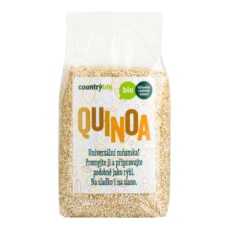 Quinoa 500g BIO COUNTRYLIFE - Zdravá výživa a biopotraviny Rýže, těstoviny, vločky a jiné obiloviny Nezpracované obiloviny