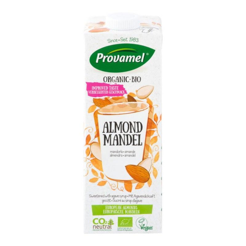 Nápoj mandlový 1l BIO PROVAMEL - Zdravá výživa a biopotraviny Rostlinná mléka a dezerty Obilná mléka a dezerty