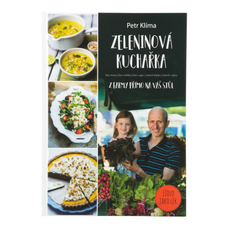 Kniha Zeleninová kuchařka Petr Klíma - Knihy a ostatní Kuchařky
