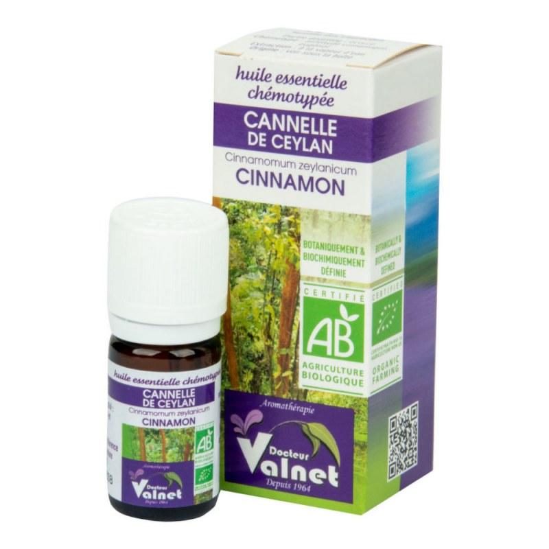 Éterický olej skořice 5 ml BIO DOCTEUR VALNET - Přírodní kosmetika Francie, USA Aromaterapie Esenciální oleje