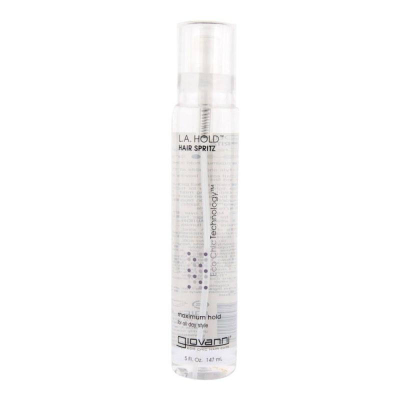 L.A.HOLD Lak na vlasy silně tužící 147 ml GIOVANNI - Přírodní kosmetika Francie, USA Vlasová kosmetika