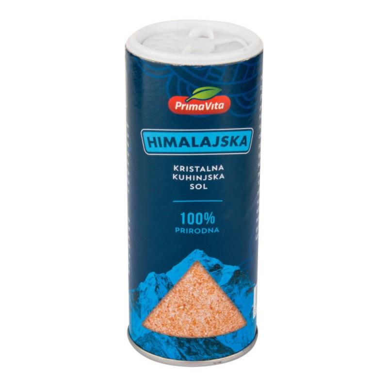 Sůl himálajská růžová jemná 200g PRIMAVITA - Zdravá výživa a biopotraviny Ochucovadla Sušené houby a rajčata, olivy