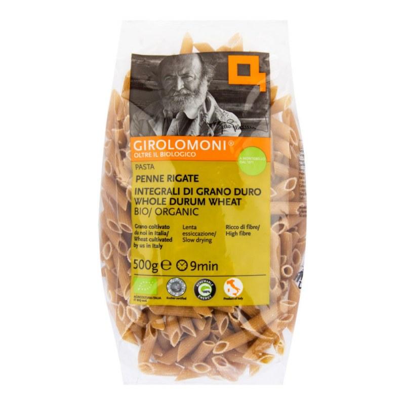 Těstoviny penne celozrnné semolinové 500g BIO GIROLOMONI - Zdravá výživa a biopotraviny Rýže, těstoviny, vločky a jiné obiloviny Těstoviny, kuskus, bulgur