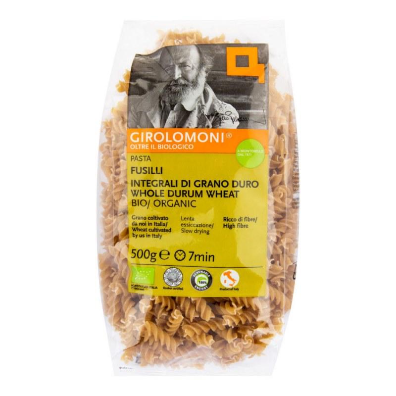 Těstoviny fusilli celozrnné semolinové 500g BIO GIROLOMONI - Zdravá výživa a biopotraviny Rýže, těstoviny, vločky a jiné obiloviny Těstoviny, kuskus, bulgur