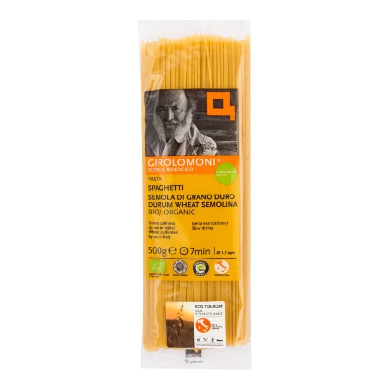 Těstoviny špagety semolinové 1,7 mm 500g BIO GIROLOMONI - Zdravá výživa a biopotraviny Rýže, těstoviny, vločky a jiné obiloviny Těstoviny, kuskus, bulgur
