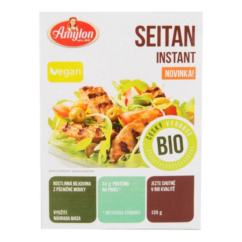 Seitan instantní 120g BIO AMYLON - Zdravá výživa a biopotraviny Směsi a omáčky Doplňky na vaření a pečení