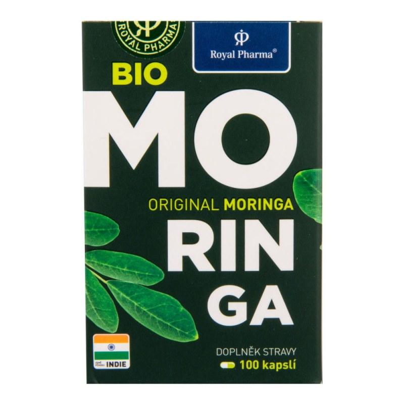 Moringa 100kapslí 30g BIO ROYALPHARMA - Zdravá výživa a biopotraviny Superpotraviny a doplňky stravy