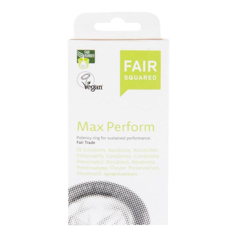 Kondom Max Perform 10 ks FAIR SQUARED - Přírodní kosmetika Francie, USA Pánská kosmetika