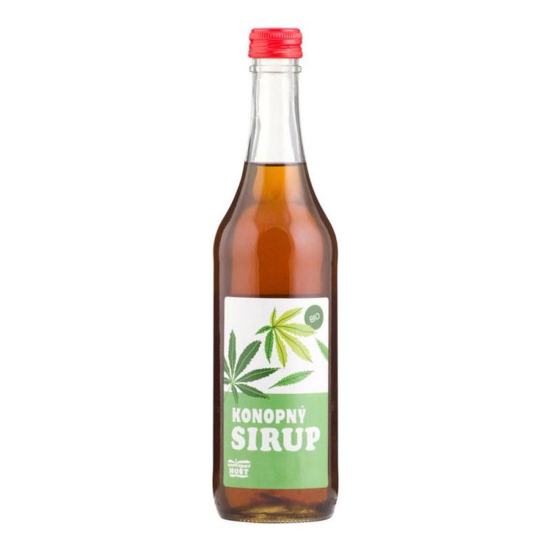 Sirup konopí 500ml BIO MOŠTÁRNAHOSTĚTÍN - Zdravá výživa a biopotraviny Med, melasa a další sladidla Sirupy a slady