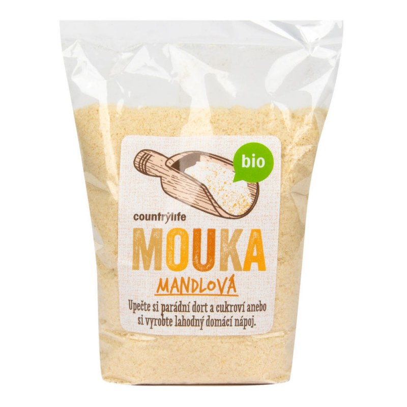 Mouka mandlová 250g BIO COUNTRYLIFE - Zdravá výživa a biopotraviny Rýže, těstoviny, vločky a jiné obiloviny Mouky, krupice, strouhanka