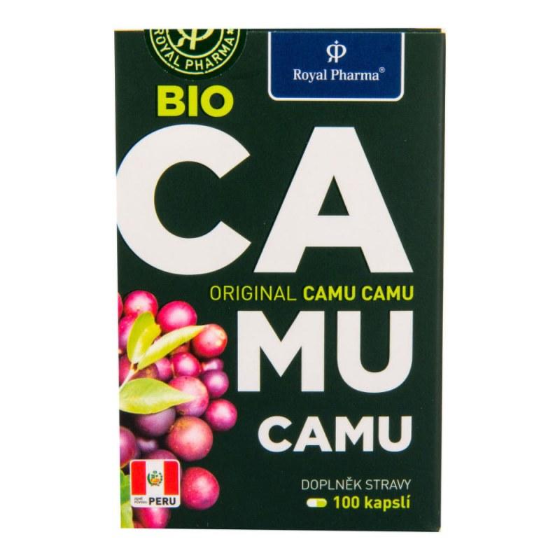Camu Camu 100kapslí 30g BIO ROYAL PHARMA - Zdravá výživa a biopotraviny Superpotraviny a doplňky stravy