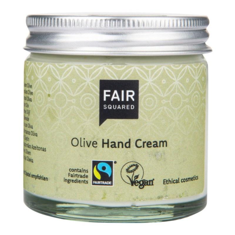 Krém na ruce s olivovým olejem 50 ml ZWP FAIR SQUARED - Přírodní kosmetika Francie, USA Tělová kosmetika Péče o ruce a nohy