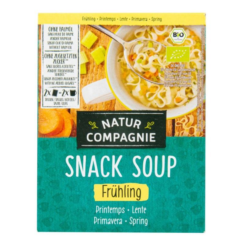 Polévka instantní jarní 34g BIO NATURCOMPAGNIE - Zdravá výživa a biopotraviny Směsi a omáčky Instantní polévky