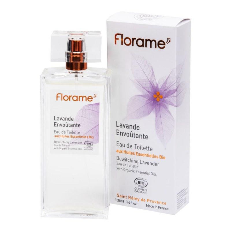 Toaletní voda LAVANDE ENVOUTANTE 100 ml BIO FLORAME - Přírodní kosmetika Francie, USA Přírodní deodoranty a parfémy Přírodní toaletní vody