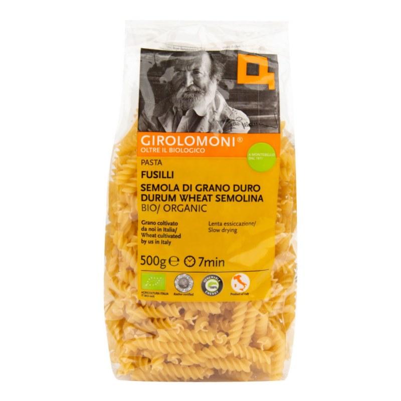 Těstoviny fusilli semolinové 500 g BIO GIROLOMONI - Zdravá výživa a biopotraviny Rýže, těstoviny, vločky a jiné obiloviny Těstoviny, kuskus, bulgur