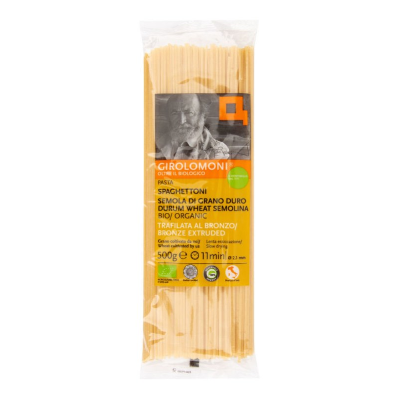Těstoviny špagety semolinové 2,1 mm 500 g BIO GIROLOMONI - Zdravá výživa a biopotraviny Rýže, těstoviny, vločky a jiné obiloviny Těstoviny, kuskus, bulgur