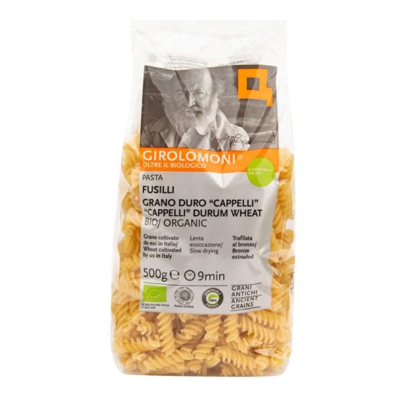 Těstoviny fusilli Cappelli semolinové 500 g BIO GIROLOMONI - Zdravá výživa a biopotraviny Rýže, těstoviny, vločky a jiné obiloviny Těstoviny, kuskus, bulgur