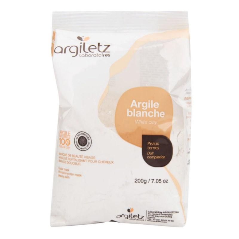 Jíl bílý ultra ventilovaný maska & koupel 200 g ARGILETZ - Přírodní kosmetika Francie, USA Pleťová kosmetika