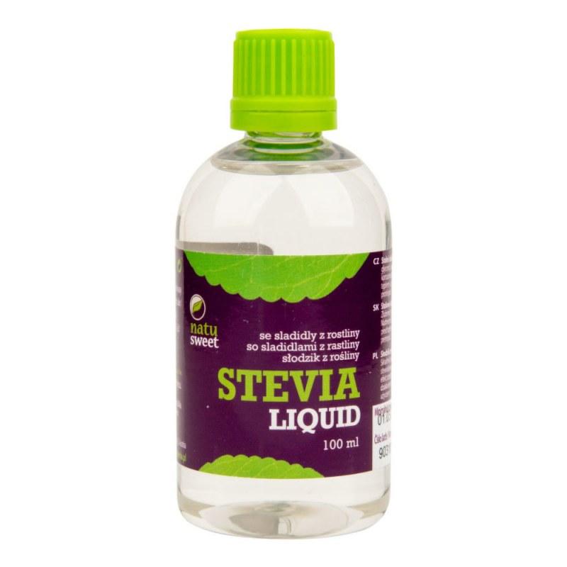 Sladidlo ze stevie liquid 100 ml NATUSWEET CL - Zdravá výživa a biopotraviny Med, melasa a další sladidla