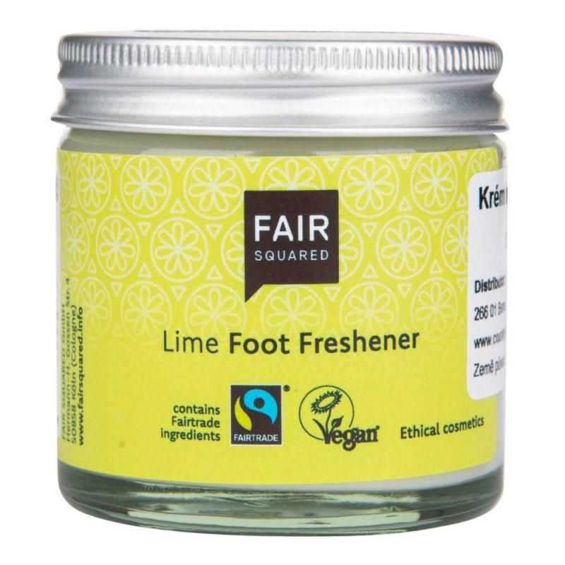 Krém na chodidla osvěžující s limetkou 50 ml ZWP FAIR SQUARED - Přírodní kosmetika Francie, USA Tělová kosmetika Péče o ruce a nohy