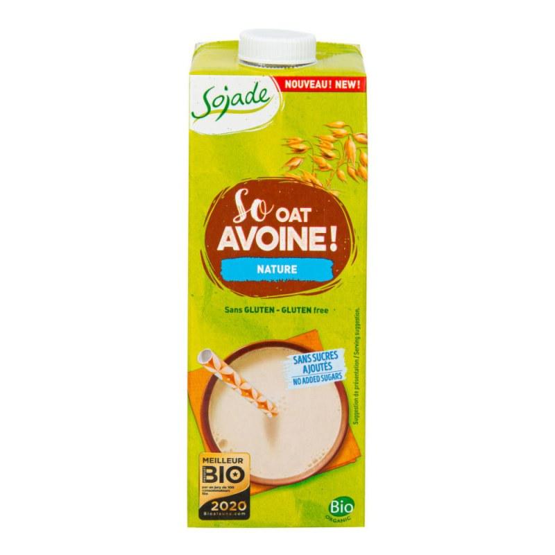 SOJADE Ovesný nápoj bezlepkový 1 l BIO - Zdravá výživa a biopotraviny Rostlinná mléka a dezerty Obilná mléka a dezerty