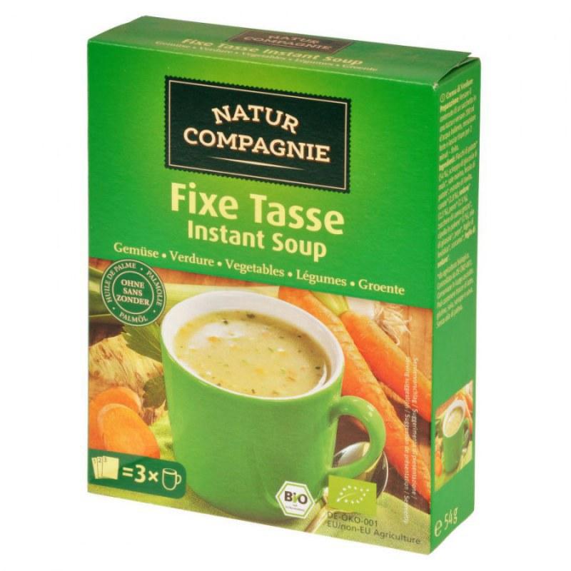 Polévka instantní zeleninová 54g BIO NATURCOMPAGNIE - Zdravá výživa a biopotraviny Směsi a omáčky Instantní polévky