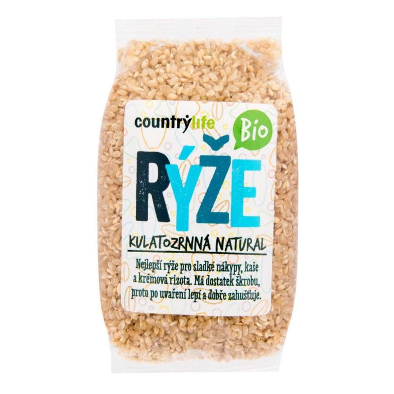 Rýže kulatozrnná natural 500g BIO COUNTRYLIFE - E-shop