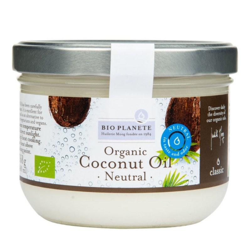 Olej kokosový dezodorizovaný 400ml BIO BIO PLANETE - E-shop