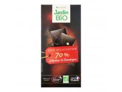 Čokoláda hořká 70% 100 g BIO JARDIN BIO 6626