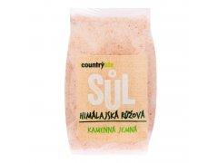 Sůl himálajská růžová jemná 500g COUNTRYLIFE 6954