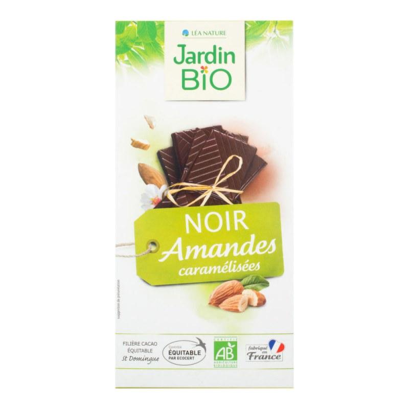 Čokoláda s mandlemi 100 g BIO JARDIN BIO - E-shop