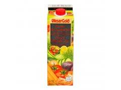 Šťáva zeleninová 1l WESERGOLD