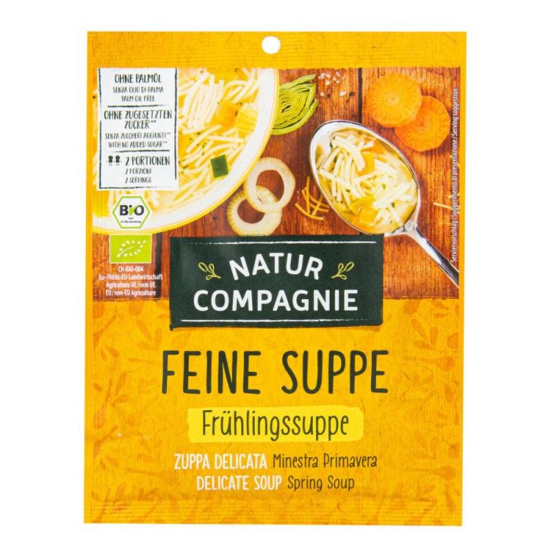 Polévka jarní 37g BIO NATURCOMPAGNIE - Zdravá výživa a biopotraviny Směsi a omáčky Instantní polévky
