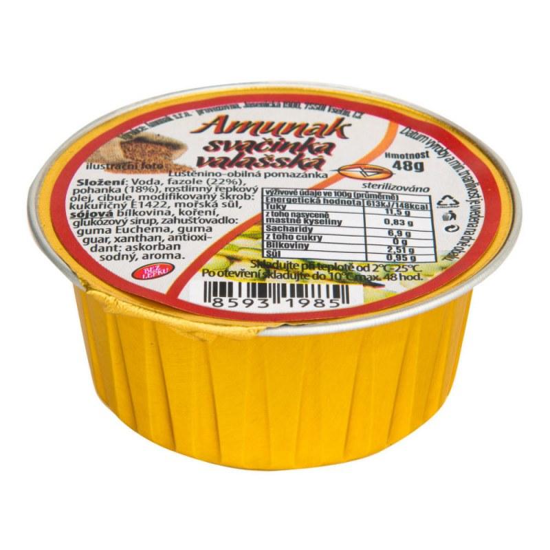 Svačinka valašská 48g AMUNAK - Zdravá výživa a biopotraviny Pomázanky, paštiky, džemy Slané pomazánky