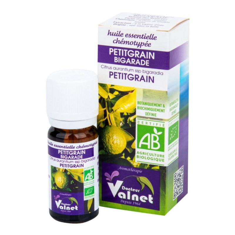 Éterický olej petitgrain (hořký pomeranč) 10 ml BIO DOCTEUR VALNET - Přírodní kosmetika Francie, USA Aromaterapie Esenciální oleje