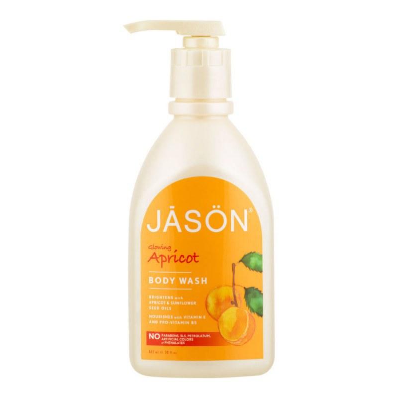 Gel sprchový meruňka 887 ml JASON - Přírodní kosmetika Francie, USA Tělová kosmetika Sprchové gely, krémy a oleje