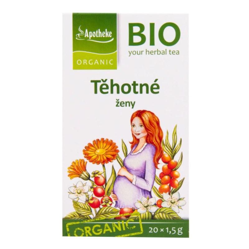 Čaj Pro těhotné ženy 30g BIO MEDIATE - Zdravá výživa a biopotraviny Zdravé ovocné a zeleninové nápoje, čaje Čaje Čajové směsi