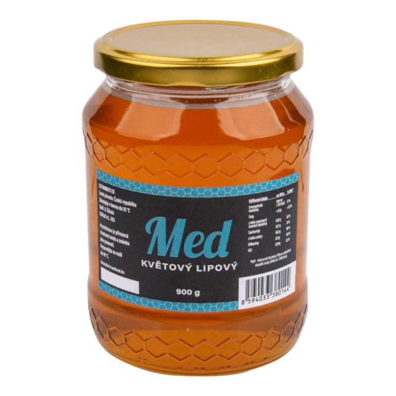 Med květový lipový 900g ČÍHALA - Zdravá výživa a biopotraviny Med, melasa a další sladidla Med