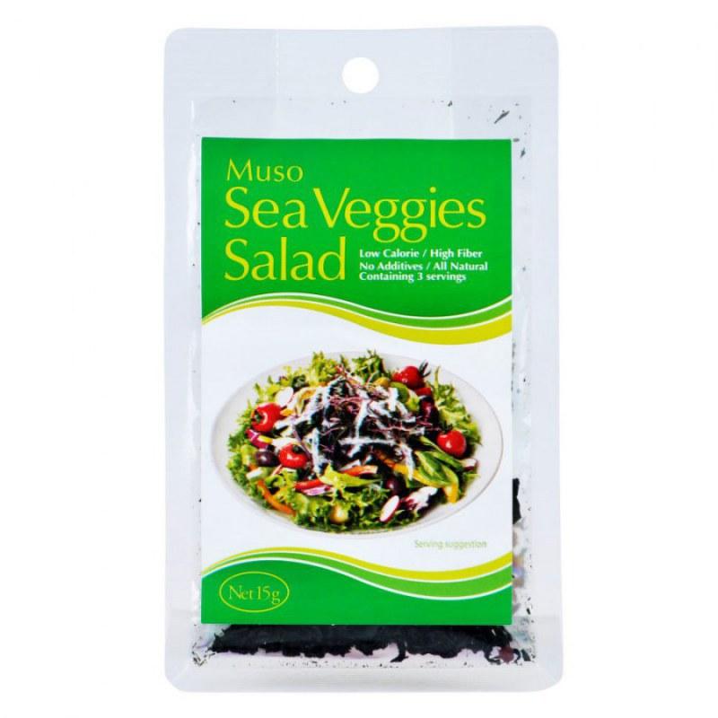 Salát z mořských řas 15g MUSO - Zdravá výživa a biopotraviny Mořské řasy