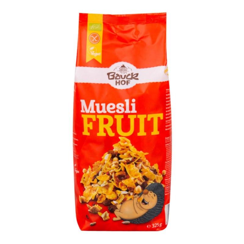 Müsli ovocné bezlepkové 325g BIO BAUCK - Zdravá výživa a biopotraviny Rýže, těstoviny, vločky a jiné obiloviny Vločky, müsli, lupínky
