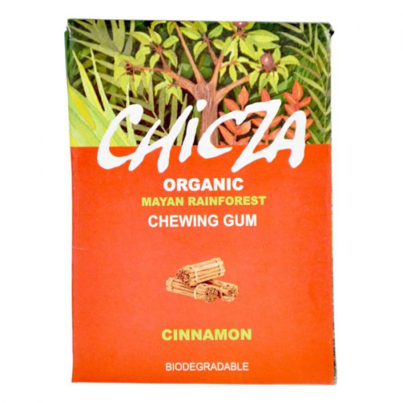 Žvýkačka s příchutí skořice 30 g BIO CHICZA - Zdravá výživa a biopotraviny Něco na zub Sladké Bonbóny, lízátka, zvýkačky