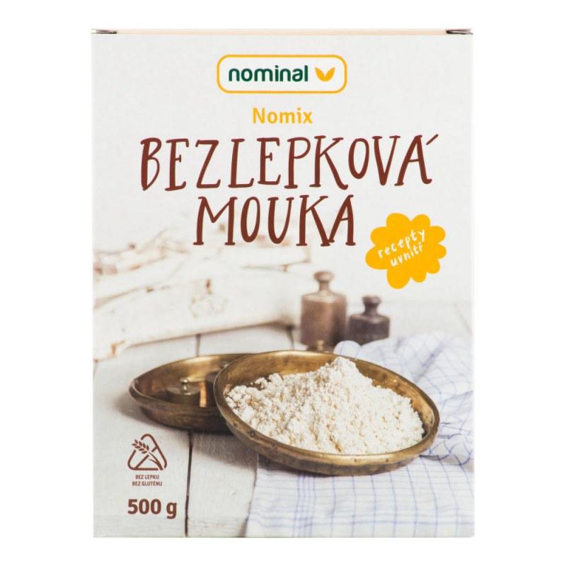 Směs moučná NOMIX bezlepková 500g NOMINAL - Zdravá výživa a biopotraviny Směsi a omáčky Směsi na chleba, palačinky